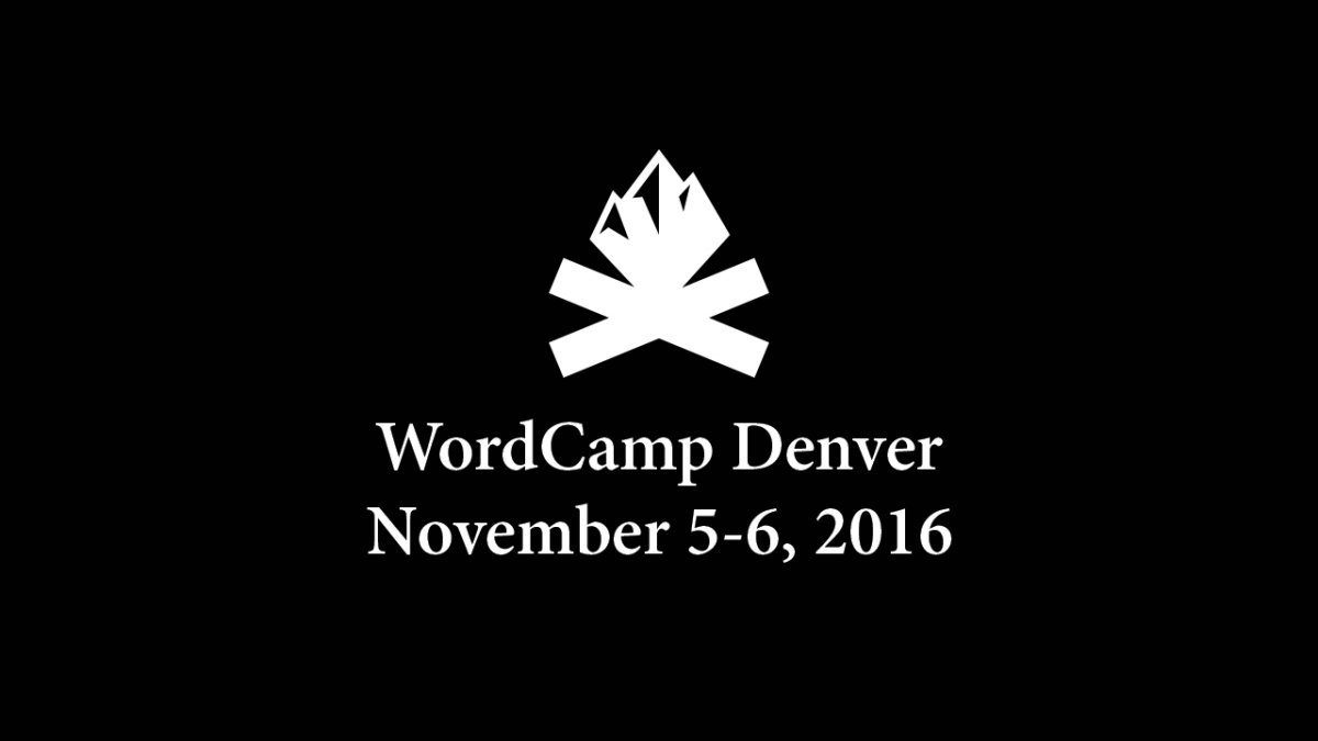 Videos for all WordCamp Denver sessions are now available on WordPress TV!